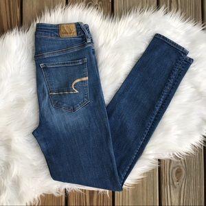 American Eagle Super Hi-Rise Jegging Pants Jeans